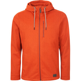 Elkline Coolnights Fleece Jacke Herren paprikared